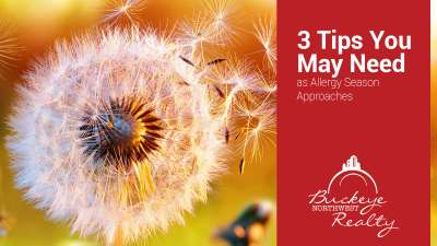 3 Tips You May Need as Allergy Season Approaches