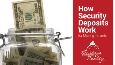 How Security Deposits Work for Moving Tenants