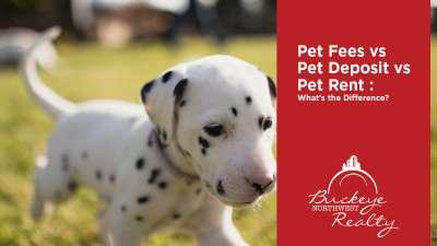 Pet Fee vs Pet Deposit vs Pet Rent : What's the Difference?