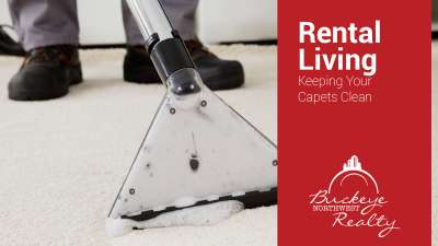 Rental Living: Keeping Your Carpets Clean