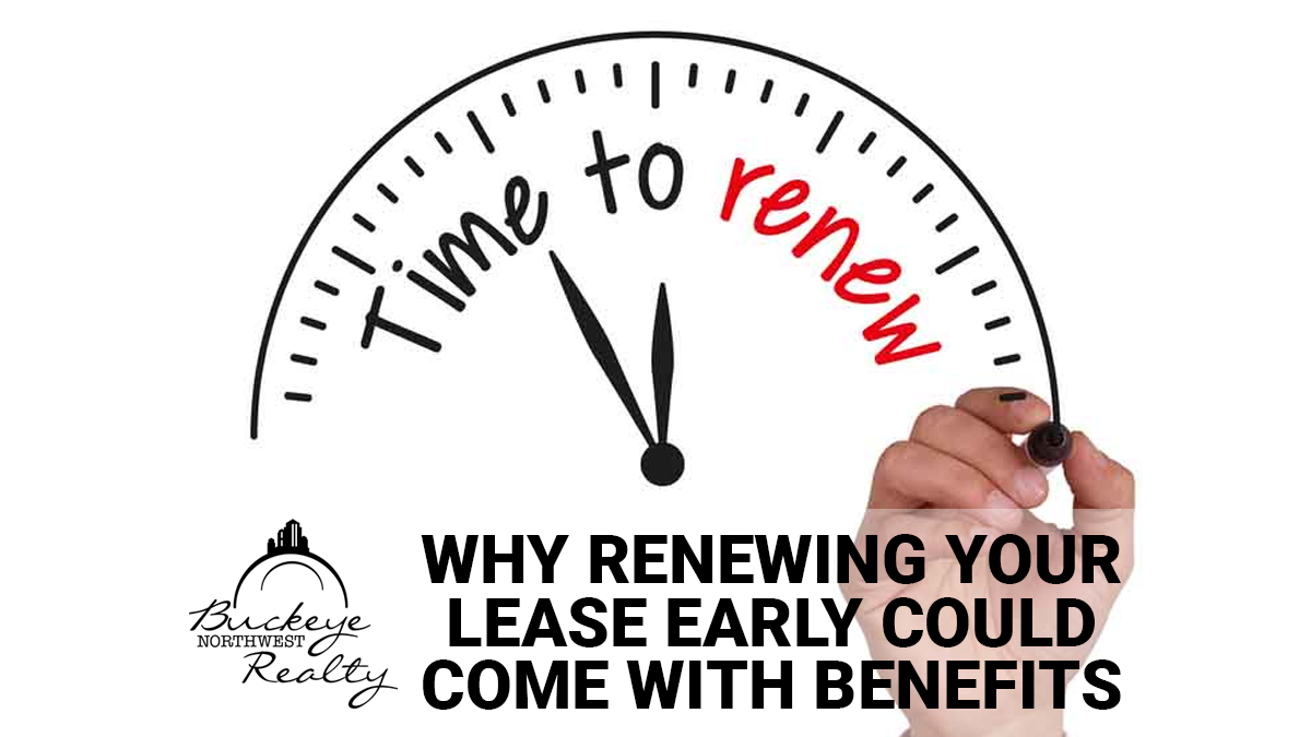 Why Renewing Your Rental Lease Early Could Come with Benefits